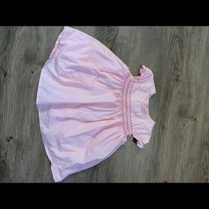 Children's Place pink smocked dress